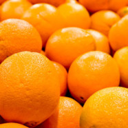 Flyt appelsiner med hagen