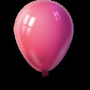 Balloner smadres på dejlige maver