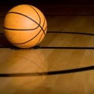 Basketball med levende net