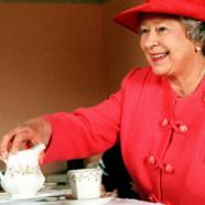 Jeg var til the hos Dronningen