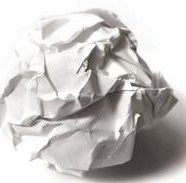 Gaffa-tape og papirkugler